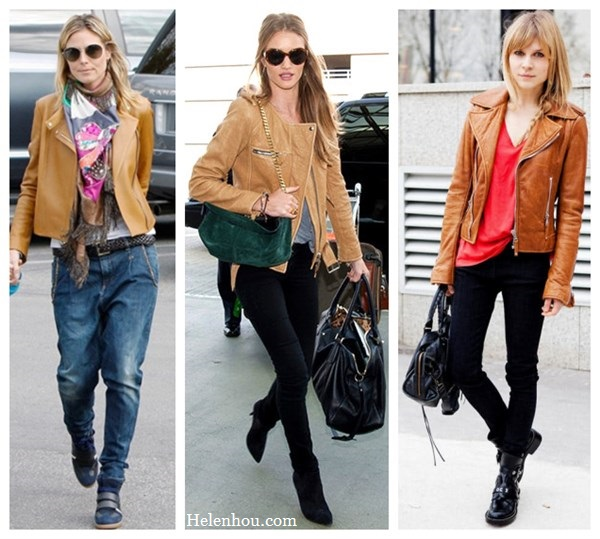 How To Wear A Brown Leather Jacket - My Jacket